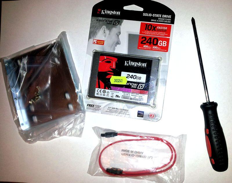 набор для установки SSD Kingston